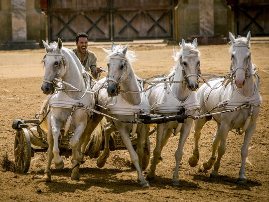 Jack Huston takes the reins of four horses as well