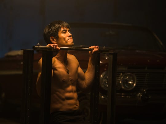 """Philip Ng stars as Bruce Lee in """"Birth of the Dragon."""""""