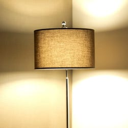 The bolt that holds a lampshade to a lamp is the same