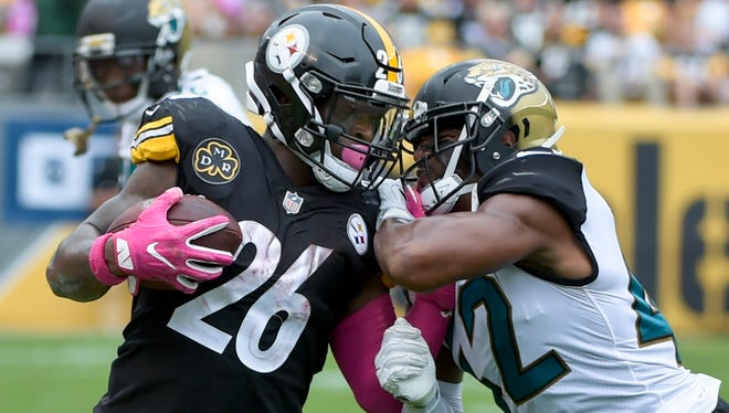 The Pittsburgh Steelers running game is struggling with holdout running back Le'Veon Bell.