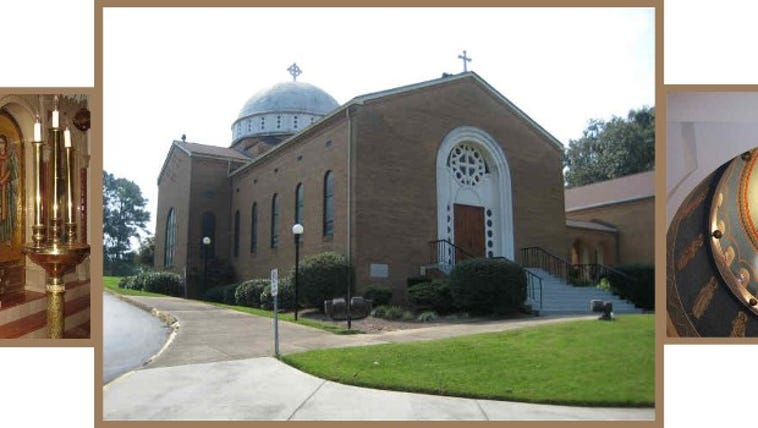 Saint George Greek Orthodox Church is alerting parishioners