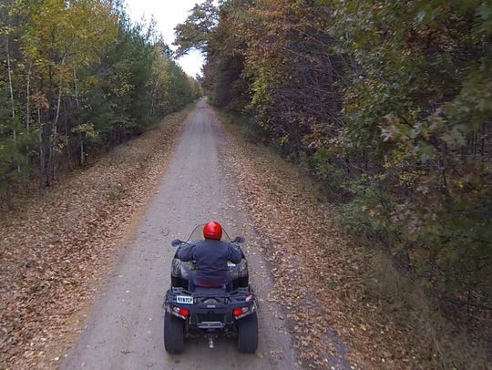 Washburn County boasts more than 100 miles of ATV trails