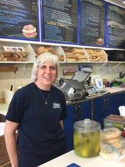 Lauren Hayward, owner of Hayward's Deli & Market on