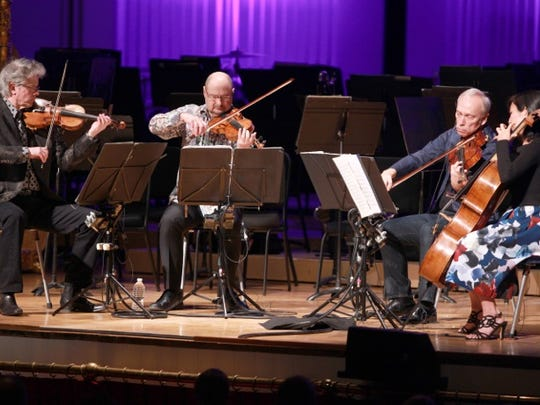 "The esteemed Kronos Quartet gripped in Bryce Dessner's ""Aheym"" at MusicNOW."