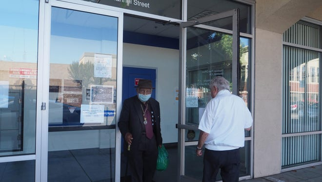 The downtown post office was closed due to someone testing positive. Customers will still have access to P.O. Boxes but not to thecustomer service area.