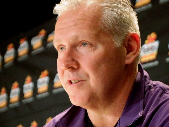 Kansas State offensive coordinator Dana Dimel