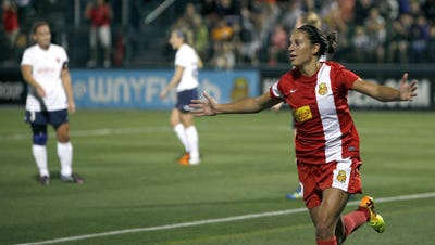 United States national team midfielder Carli Lloyd is expected to be traded by the Flash to Houston.