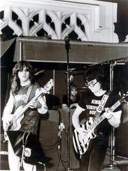 Brownsville Station in Media Sound studio in 1973,