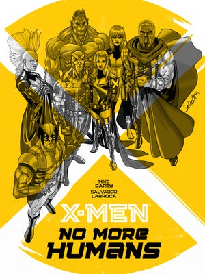 "Next year's ""X-Men: No More Humans"" graphic novels spins out of the recent ""Battle of the Atom"" crossover."