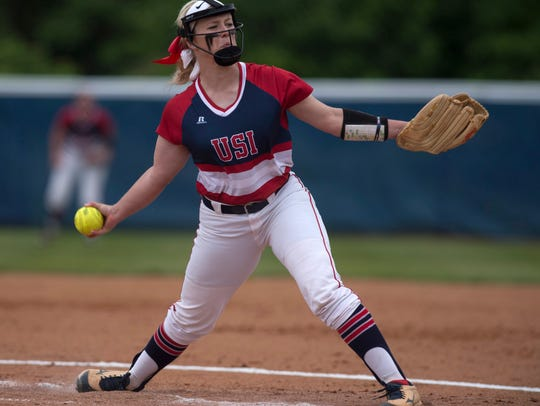 Jennifer Leonhardt broke the program's single-season strikeout record, which is now 237 and counting.