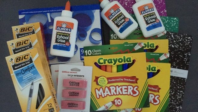 Don't wait for the tax holiday for this Office Depot/OfficeMax deal. Pay $7.59 for all these school and office supplies and get $5.99 back in rewards.