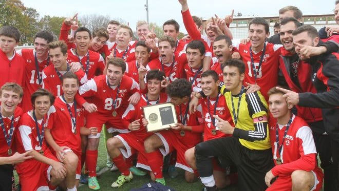 The Somers boys soccer team is looking to repeat in Class A.