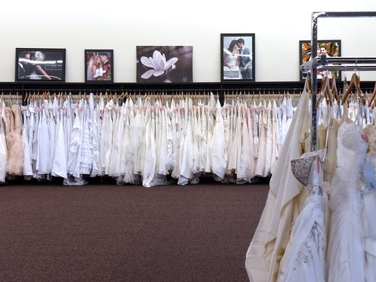 Wedding dresses start to fill the new location of Amore