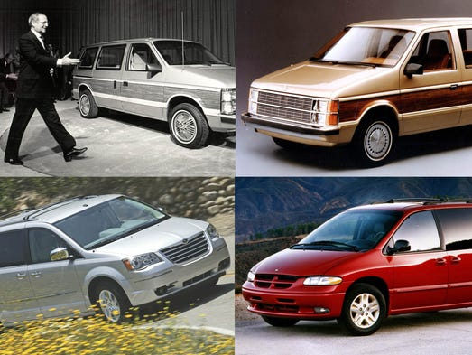 A gallery of the minivans from Dodge, Plymouth and