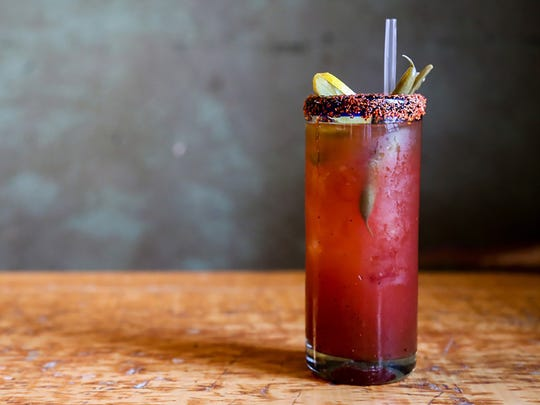 Felipe's Mexican Taqueria in Naples is celebrating National Bloody Mary Day on Monday, Jan. 1, with its $6 all-day bloody maria.