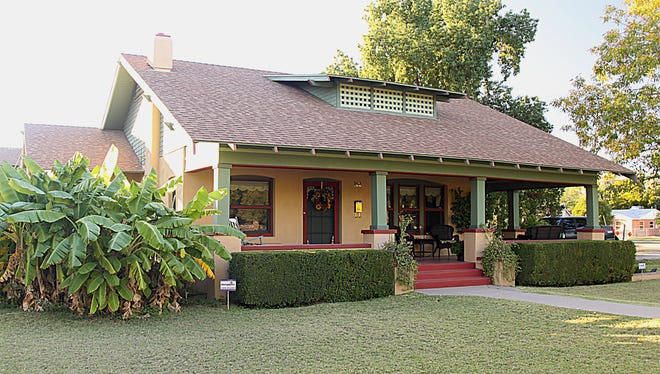 This home is one of 14 on the Mesa Historic Home tour on Saturday, Jan. 25, 2014.