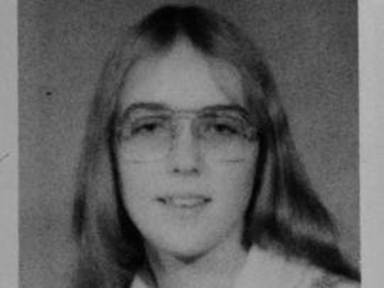 Ann Hunkins' yearbook photo