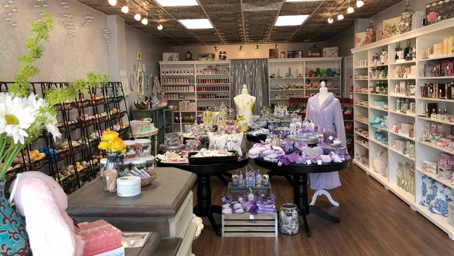 Poppy & Thyme, a bath and body store in Menomonee Falls, will hold a grand opening on May 5. The store, at N88 W16726 Appleton Ave., sells handmade soaps, body cremes, tea, jelly, jam, candy and other gifts.