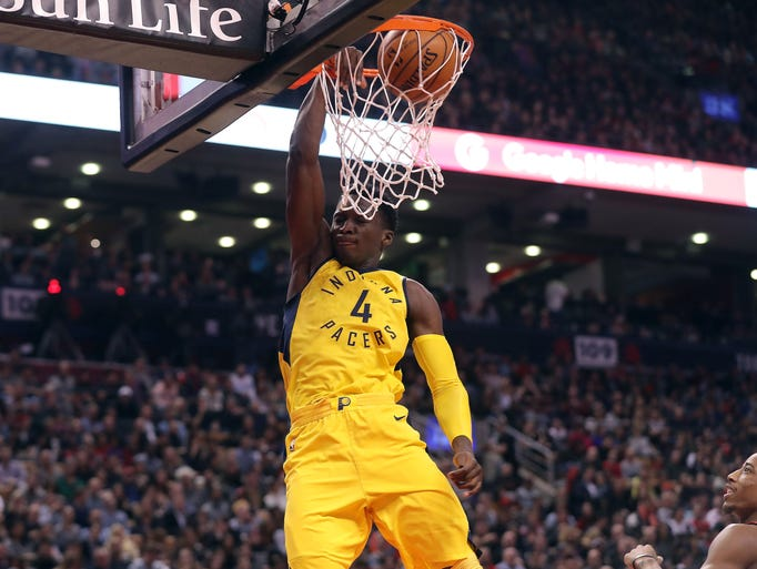 Dec 1, 2017; Toronto, Ontario, CAN; Indiana Pacers