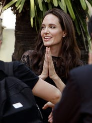 Angelina Jolie, here in Thailand in February, may star