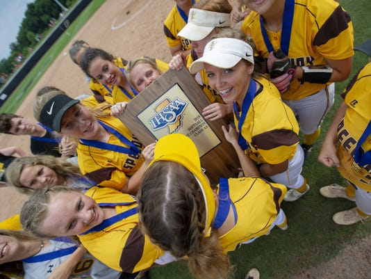 IHSAA Softball State Finals Class 2A Game