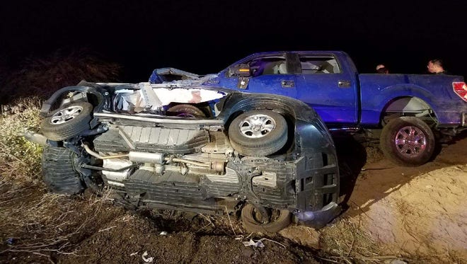 Two cars were involved in a double rollover crash on Sept. 26, 2017, in Avondale
