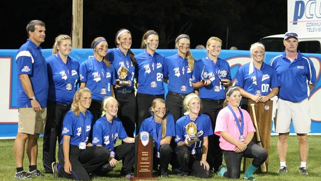 Madison's 16 and under softball team won the Babe Ruth World Series on Monday night in Pittsfield, Mass.