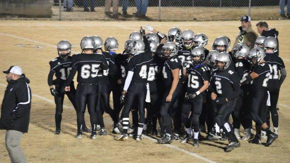 Robbinsville's football team.