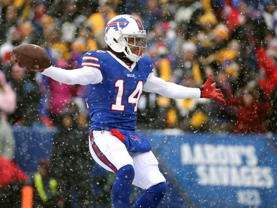 Sammy Watkins has been doing light drills this week in practice for the Bills.