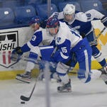 Boys hockey: Catholic Central rolls into D1 Final Four with 7-0 win