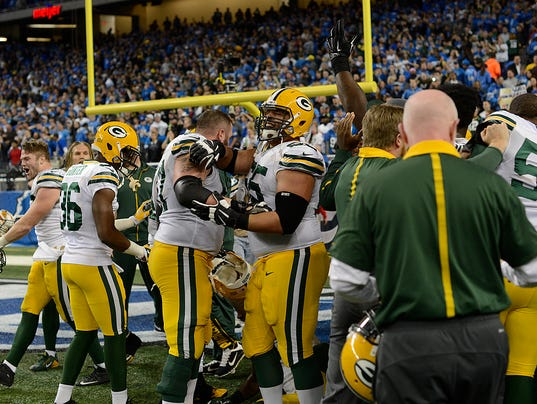Packers, Lions, Hail Mary