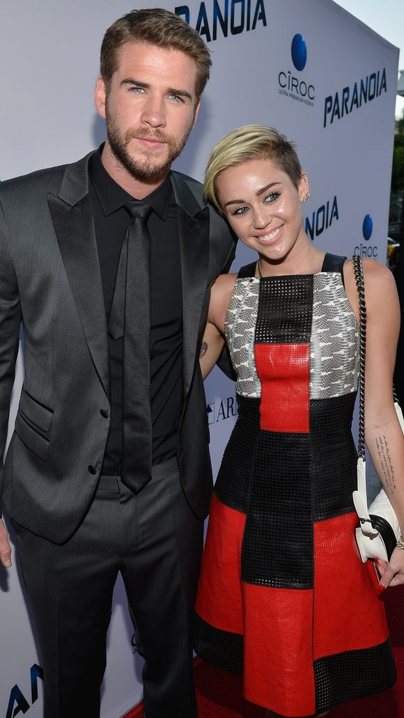 There are plenty of signs that Liam Hemsworth and Miley