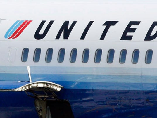 United near collision