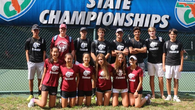 Chiles' boys and girls tennis teams finished as Class 3A state semifinalists after each won quarterfinal matches in Orlando.