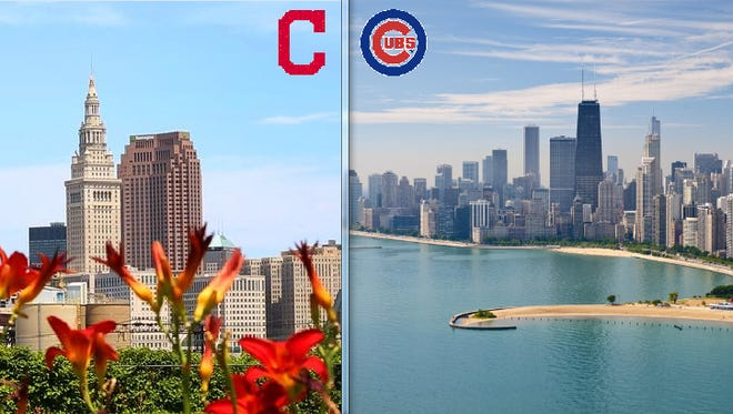 Cleveland, pictured at left, and Chicago, are separated by about 350 miles and supply at least tens of thousands of residents to Southwest Florida.