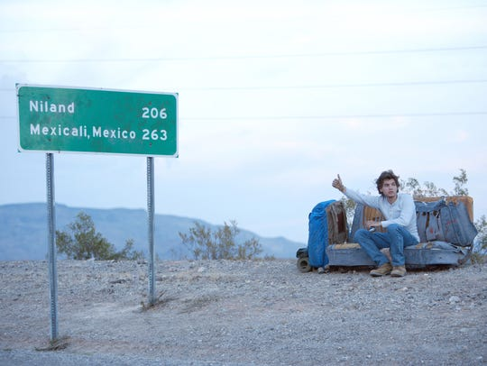 After graduating college, Chris McCandless (Emile Hirsch)