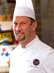 Chef Robert Bennett, executive pastry chef of Classic Cake
