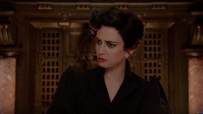 Yes you are in a Tim Burton movie, Eva. Don't look so surprised.