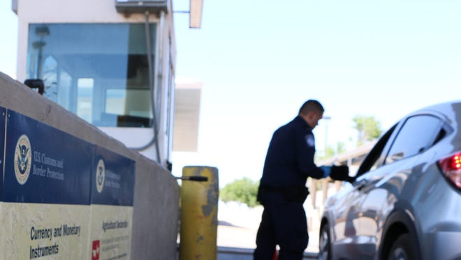 U.S. Customs and Border Protection provide data for the El Paso Sector.