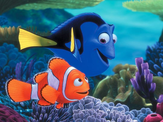 """""""Finding Nemo"""" is part of Asheville Parks & Recreation's Movies in the Park in June."""