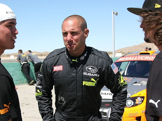 XXX RICKIE FOWLER AND BUCKY LASEK AT SUBARU PUMA GLOBAL RALLYCROSS TEAM TESTING DAY_70375594_9259.JPG E ACE ENT USA CA