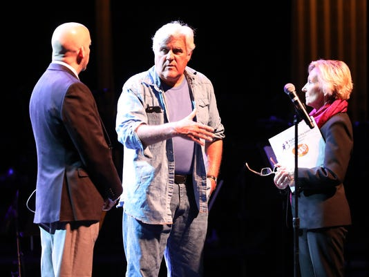 Jay Leno at Purchase College