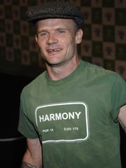 """Musician Michael """"Flea"""" Balzary of the Red Hot Chili Peppers"""