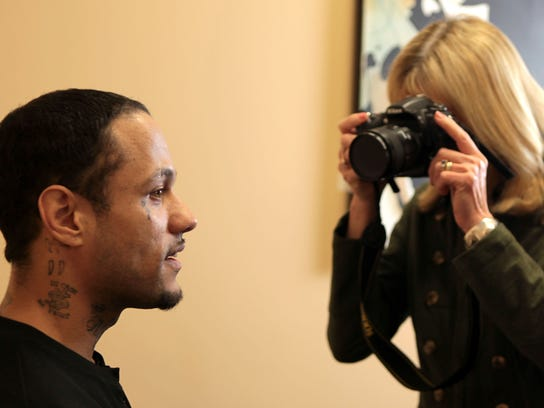 Leroy Turner is photographed by physician assistant