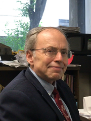 Alexander Gates, geology professor and chair of the