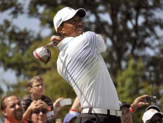 Tiger Woods Turning Stone