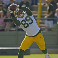 Green Bay Packers tight end Richard Rodgers will seek to become a larger part of the offense in his second season.