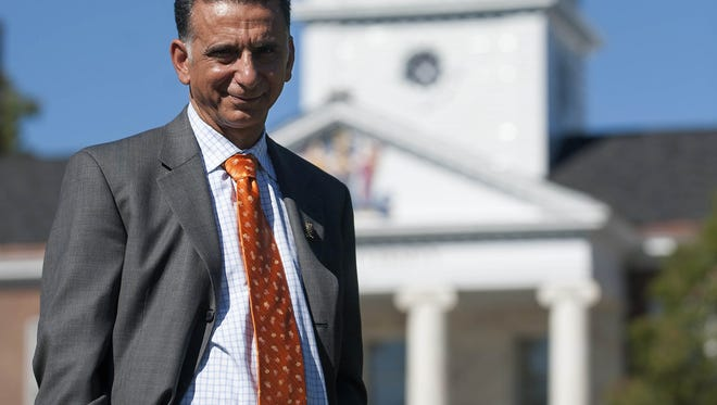 Rowan University President Ali Houshmand was invited to Rep. Donald Norcross' guest at President Trump's address to Congress. Norcross says Houshman, who is from Iran, helps put a face on the immigration issue.