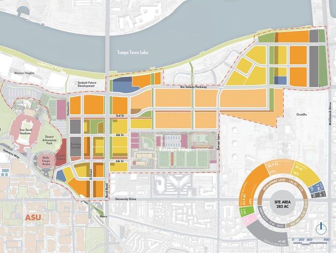 Asu creating urban hub to pay for athletics facilities - Facily pay oney ...