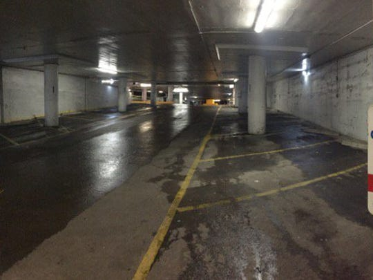 Parking at Macy's just prior to opening.
